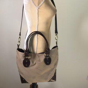 Couieria Fiorentina Leather & Fabric Bag